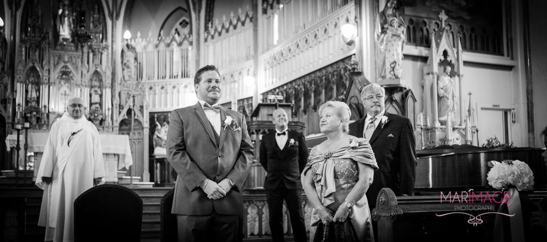 Photographe mariage Magog Estrie église