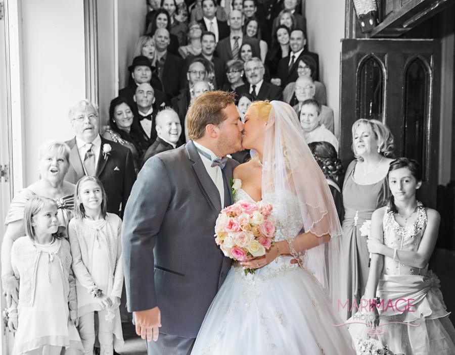 Photographe mariage Magog Sherbrooke Estrie église