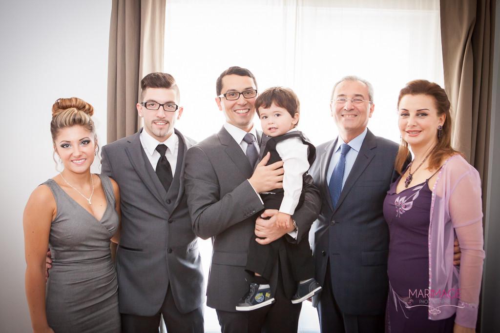 Humour et la famille. Photographe Mariage Hotel St-Martin