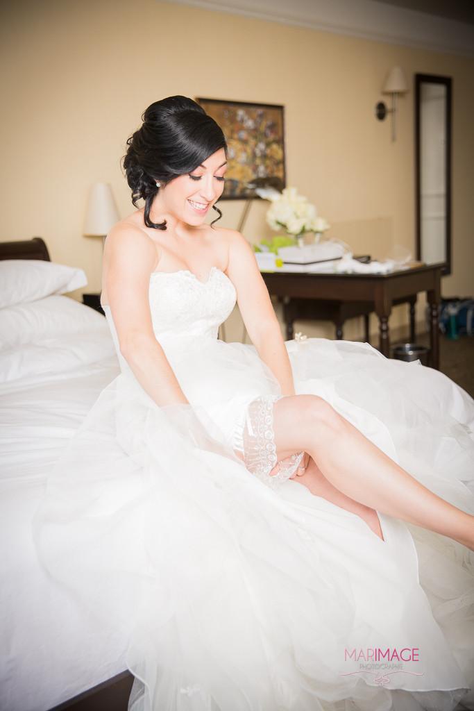 La robe. Photographe Mariage Hotel St-Martin