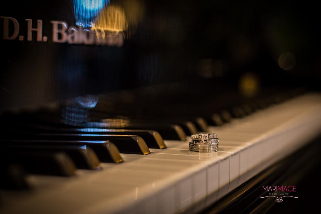 Bague Mariage Piano Montreal