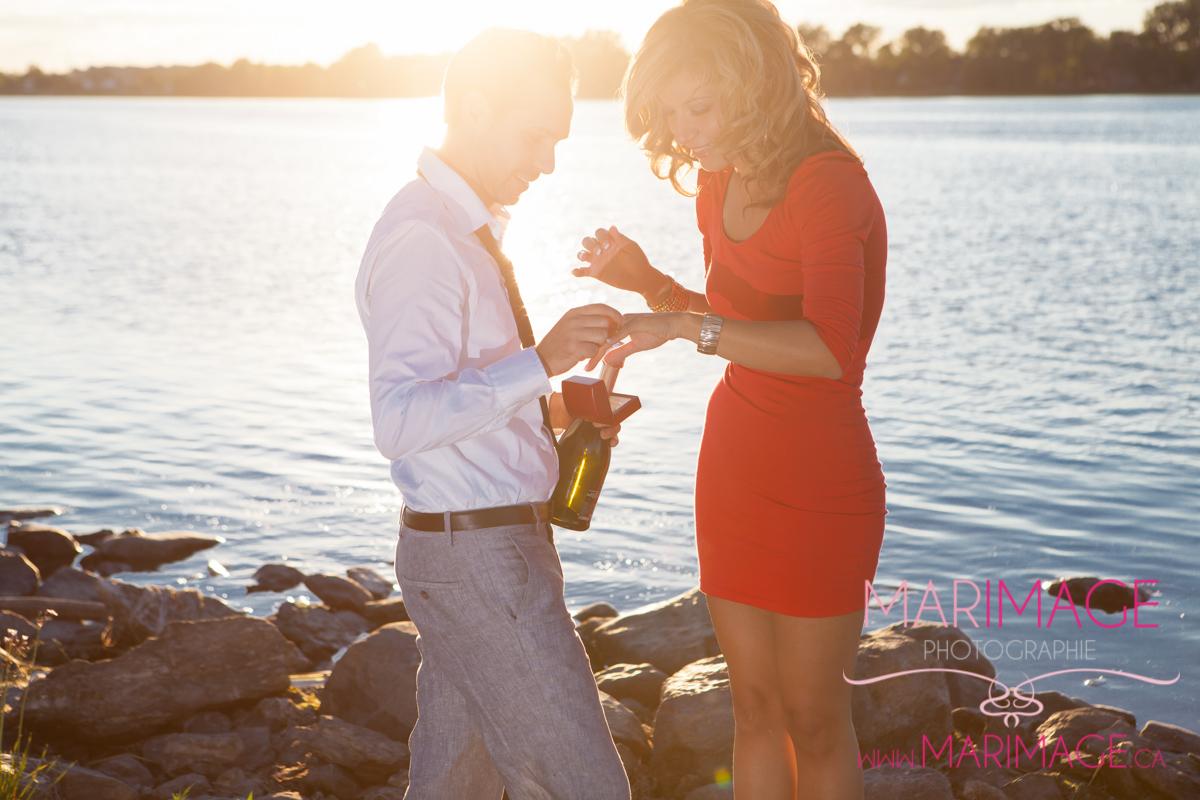 photographe demande mariage surprise Montréal