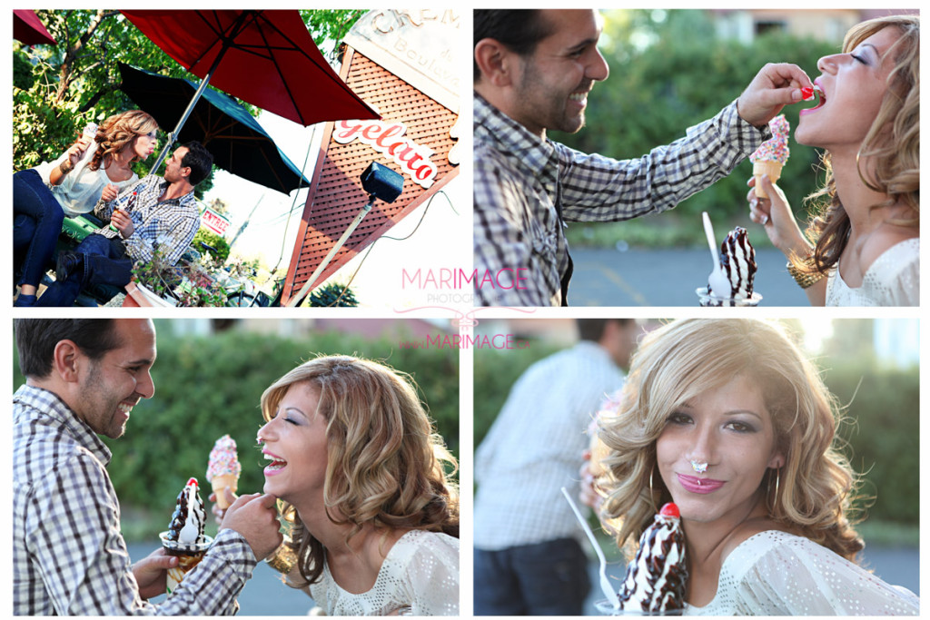 wedding photographer secret engagement session original