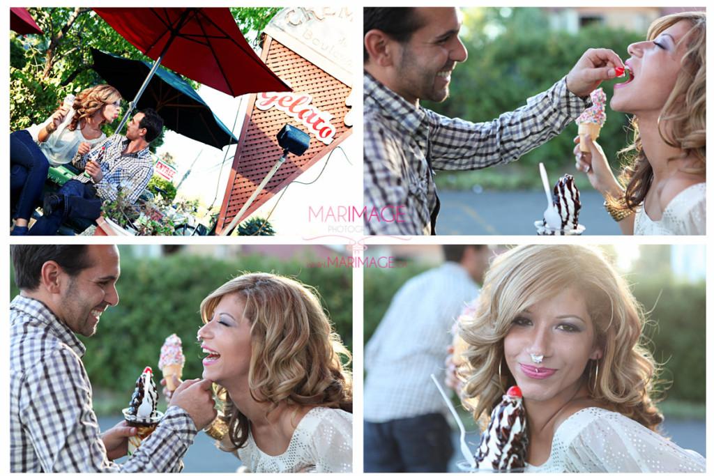 wedding photographer secret engagement session original