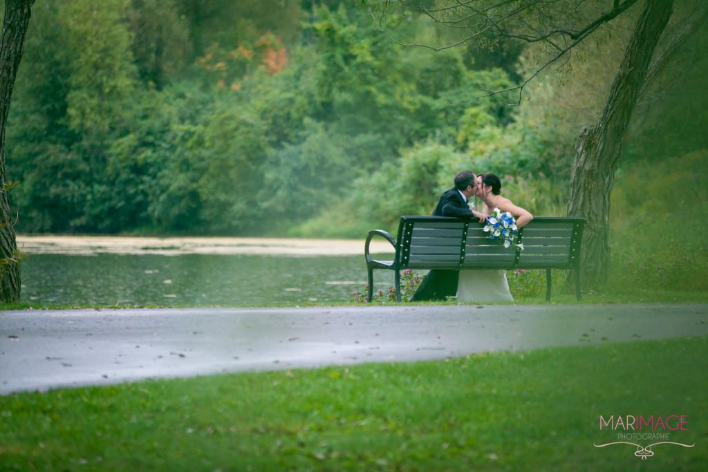 photographe mariage parc romantique