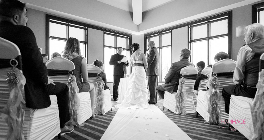 photographe mariage hotel Rive-Gauche robe