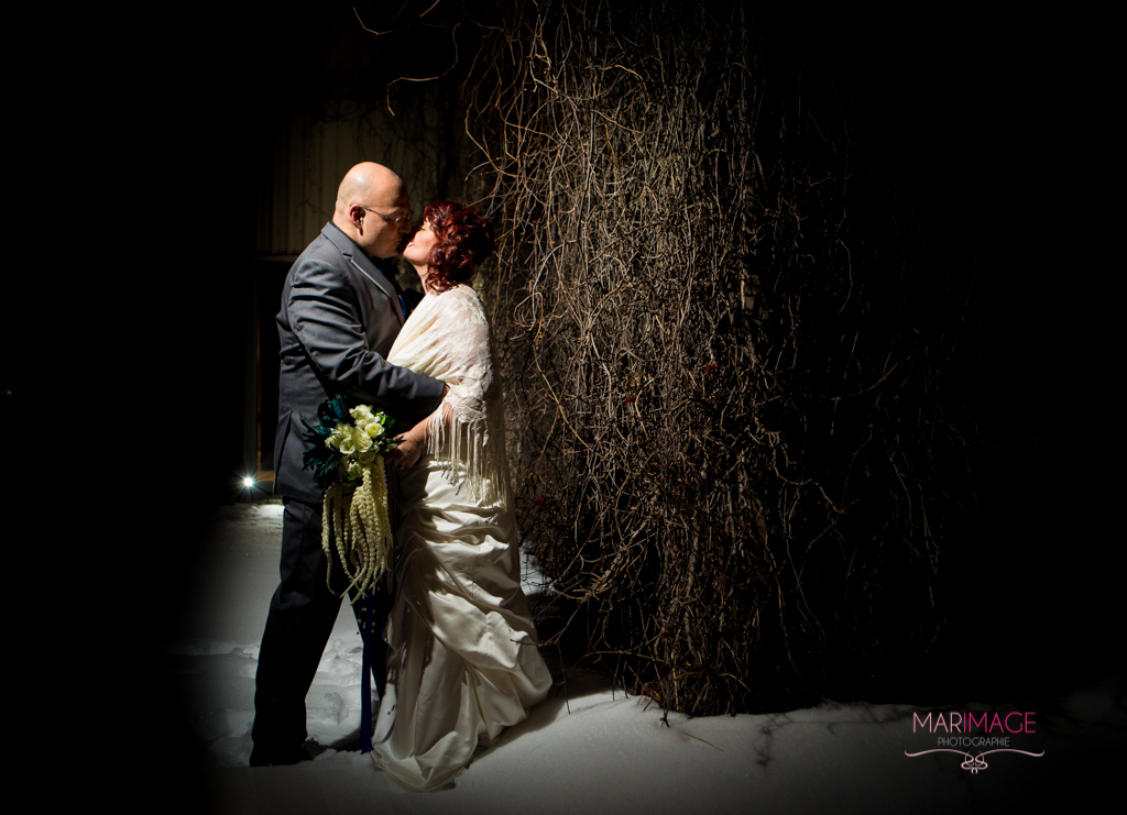 wedding photographer hotel Rive-Gauche hiver