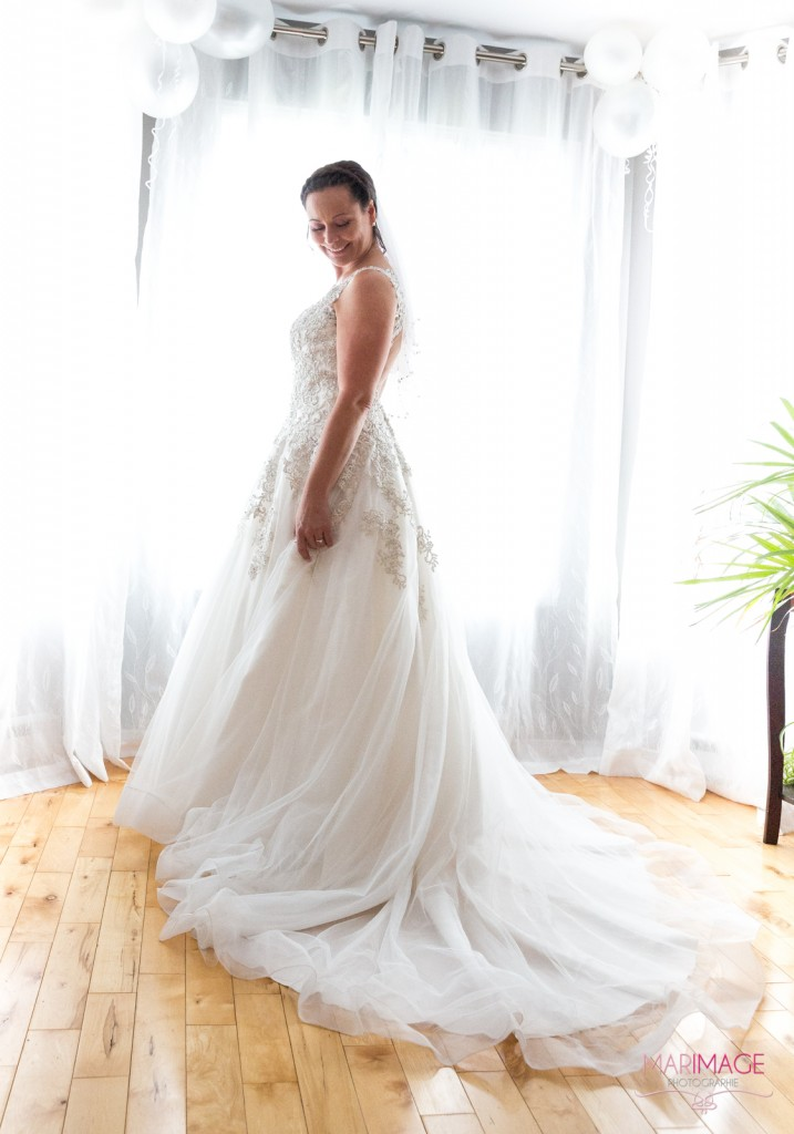 Photographe Mariage Beloeil robe mariée