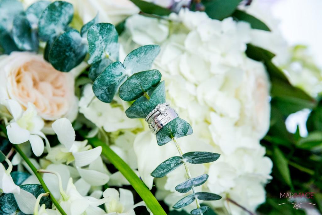 fleurs bagues mariage photographe