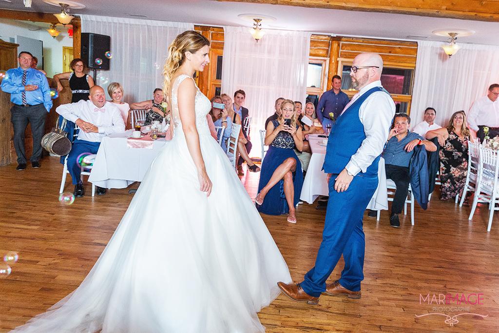 Photographe mariage danse